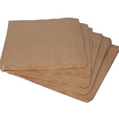 Paper Bags Brown 2lb Flat