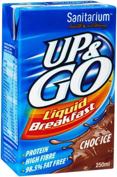 Up Amp Go Chocolate 250ml Southwest Wholesalers