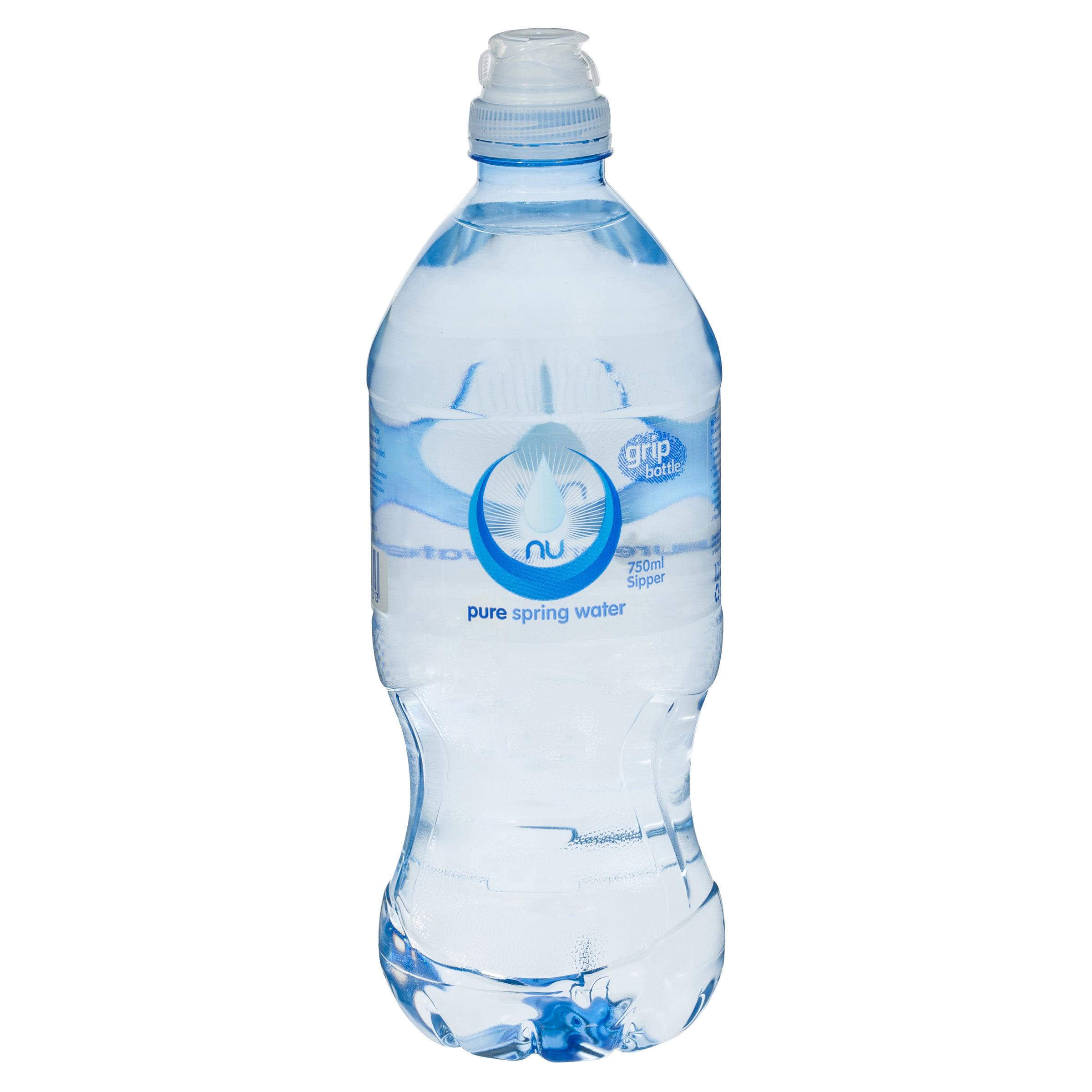 c12dc3b72e Nu Pure — Grip N Go Bottle PET, 750ml | Southwest Wholesalers