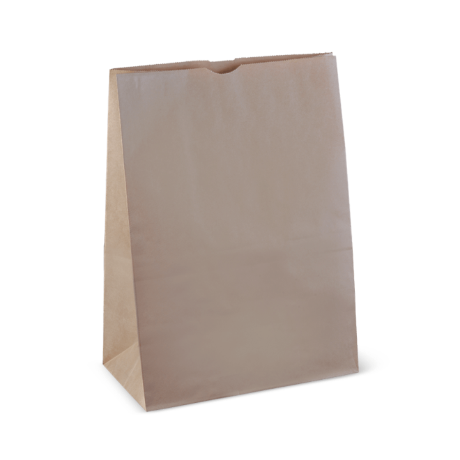 Brown Paper 20 SOS Large Take Away Bag