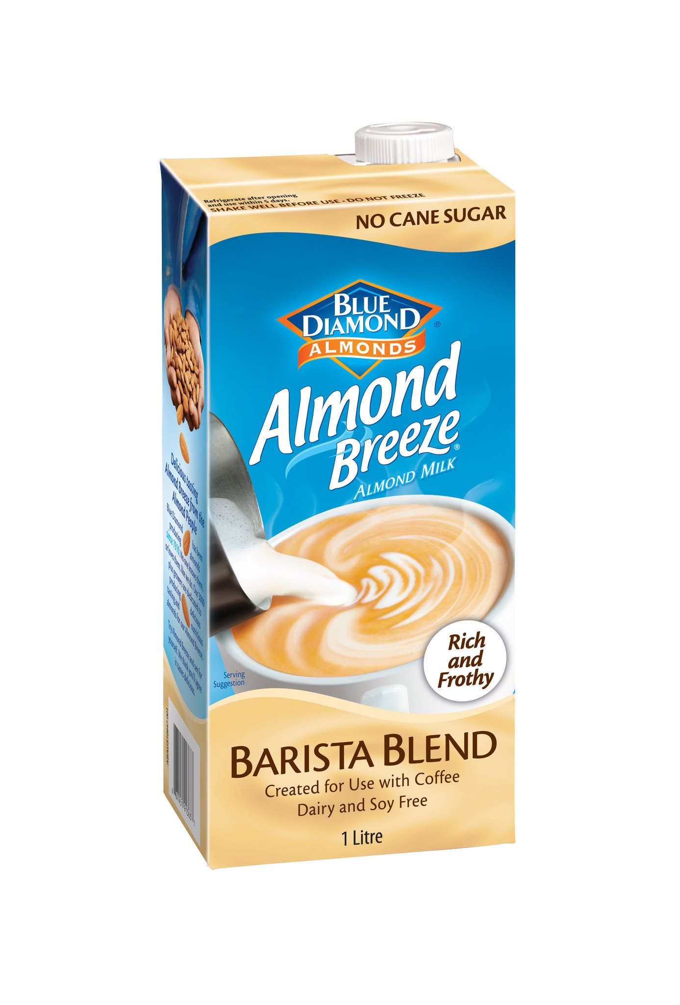 Blue Diamond Almond Breeze Barista Blend 1Ltr | Southwest Wholesalers